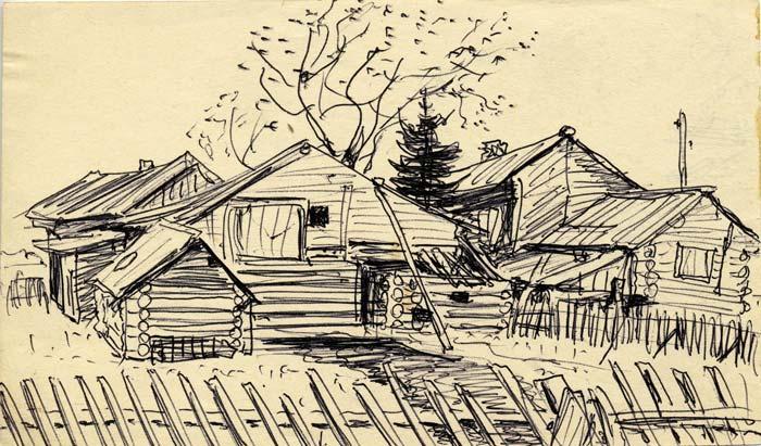 рисунки карандашом для начинающих осень: